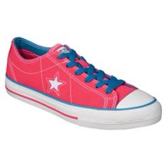 6978994b8038 I saw this in Target and fell in a little bit of love with it. It s so much  brighter in person though! Womens  Converse® One Star® Neon Oxford - Pink.