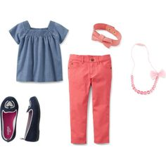 Carters Chambray and Coral Back To School #CartersFallStyle
