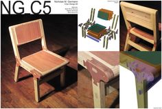 (great example of house to use layers with cnc designs) Design Quest Design Gallery - 2012 Furniture Design Competition