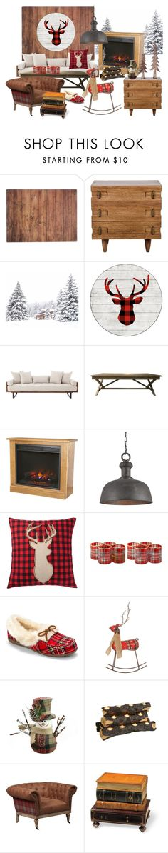 """215. Contest entry: Winter cabin"" by sollis ❤ liked on Polyvore featuring interior, interiors, interior design, home, home decor, interior decorating, Typhoon, DutchCrafters, Home Decorators Collection and Vionic"