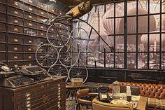 mesa mader estilo industrial - Buscar con Google
