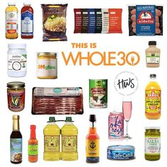 What a great list of Whole30 compliant condiments! - Can't find them in your local grocery store? Have no fear! They are all on your amazon grocery store and if you have prime, thats free shipping!
