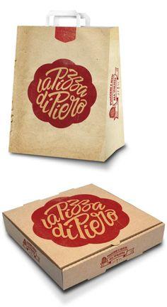 La Pizza de Piero packaging