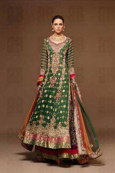 Ahmad Bilal Wedding Dress Collection 2013-2014 For Bridal Wear Ahmad Bilal |