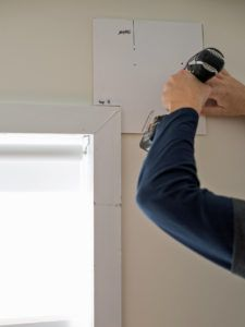 Mounting Curtain Rods On Plaster Walls Curtain Rods Hanging