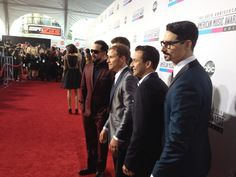 On the Red Carpet #AMA2012