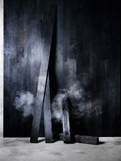 Shou Sugi Ban - Charred Timber Cladding #brutalcolourism #shousugiban