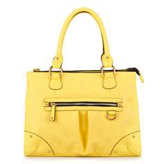 $16 yellow motorcycle bag