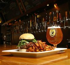 7 Monks Taproom, Traverse City Picture: The Abbey Burger - Check out TripAdvisor members' 5,006 candid photos and videos of 7 Monks Taproom