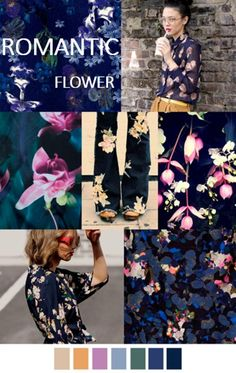 AW16 Fashion Trend : Romantic Flower fait a main PARIS More items: www.faitamain.com photo source: internet