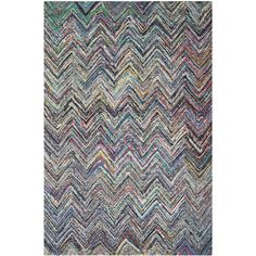 Safavieh Handmade Nantucket Blue/ Multi Cotton Rug (5' x 8')   Overstock™ Shopping - Great Deals on Safavieh 5x8 - 6x9 Rugs