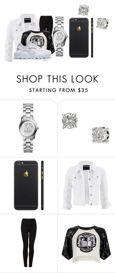 """Untitled #53"" by kaay-kay ❤ liked on Polyvore featuring Michael Kors, Effy Jewelry, maurices, Topshop and Filles à papa"