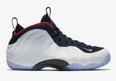 Official Images Of The Nike Air Foamposite One Olympic #thatdope #sneakers #luxury #dope #fashion #trending