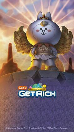 Garuda Cony Wallpaper lets get rich