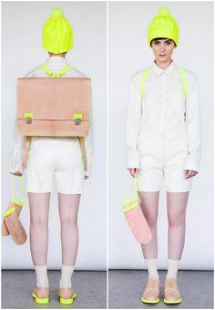 That satchel needs to be on me, asap. Alba Pratt Collection.