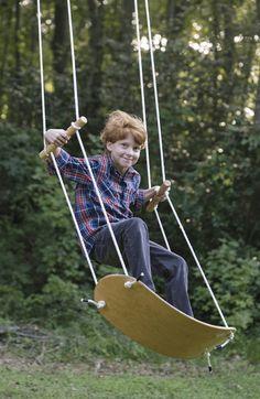 Cool Outdoor Swings for Kids - Swurfer