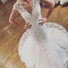 Mori Lee 2806 ❤️ Available at @bridesbeyond #morilee #madelinegardner #bride #bridal #bridalgown #lace #weddinggown #weddingdress #instabride #bridetobe #ohio #weddinginspiration #morileebride