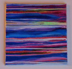 Original Abstract Painting 12x12 by HeatherMontgomeryArt on Etsy