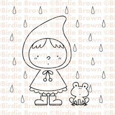 Digital Stamp -- Rainy Day