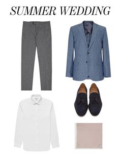 The Menswear Diaries: What To Wear To A Summer Wedding