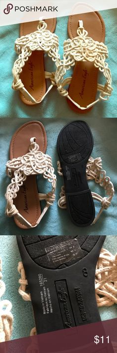 American eagle crochet sandals Used American Eagle Outfitters Shoes Sandals