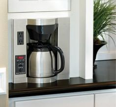 under counter coffee maker Under Cabinet Coffee Maker Home & Decor Space Saver Coffee ...
