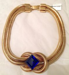 Vintage Pierre Cardin // Pierre Cardin Necklace by GodsofVintage, $235.00