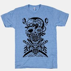 Legend Of Zelda skull | T-Shirts, Tank Tops, Sweatshirts and Hoodies | HUMAN