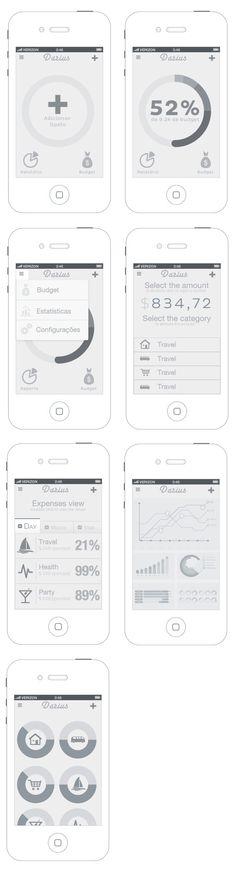Darius App by FunkTheHype , via Behance