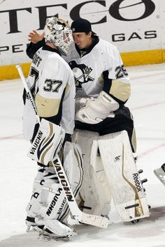 Jeff Zatkoff and Marc-Andre Fleury