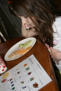 Encourage A Picky Eater to Try Something New with this free printable