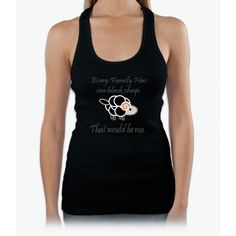 Black Sheep Womens Tank Top