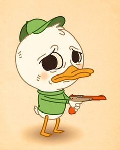 Duck Hunt by Mike Mitchell