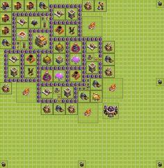 Dans cette partie du guide clash of clans, je vous propose 3 types de villages pour défendre votre Hôtel de Ville (HDV) niveau 7. Comment protéger ses ressources en hdv 7 ? C'est simple suivez les astuces présenté dans ce guide clash of clans. Vous pourrez aussi défendre vos trophées et même en gagner.