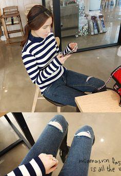 시나몬라떼 jeans