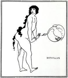 Bathyllus in the Swan Dance - Aubrey Beardsley