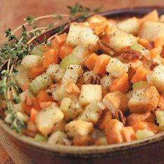 Sweet Potato Stuffing Recipe.