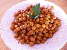 Crispy-Crunchy Lemon Garlic Roasted Chickpeas