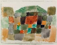 Paul Klee - Duenenlandschaft, 1923.