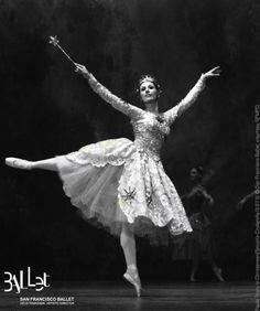 Paula Tracy in San Francisco Ballet's first Cinderella, 1973.