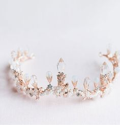 Type: Pink Princess Crystal Crown Material: Alloy, CrystalOccasion: Outdoor, Special Occasion, Wedding Size: * Care: Wipe With Lightly Damp Cloth Note: Do Not Use Any Harsh, Alcohol-Based Chemicals As This May Cause Tarnishing Head Jewelry, Cute Jewelry, Jewellery, Crown Aesthetic, Wedding Tiaras, Princess Jewelry, Pink Princess, Princess Tiara, Princess Party