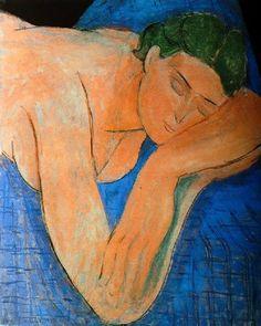 Henri Matisse, Le rêve - il sogno (1935) Museo Nazionale di Arte Modrerna, Parigi