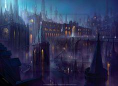 Orzhov Guildgate by John Avon