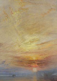 J. M. W. Turner, The Fighting Temeraire (detail), 1839 (x)