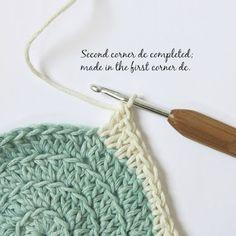 byHaafner, crochet, pattern, blanket, Dainty Dots, tutorial