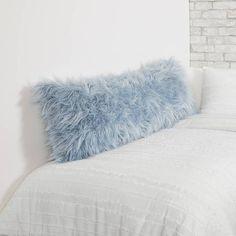 Light Blue Rooms, Light Blue Bedding, Blue Comforter, Baby Blue Bedrooms, Blue Girls Rooms, Teen Girl Bedrooms, Dorm Pillows, Blue Pillows, Throw Pillows