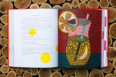 Yayoi Kusama, Japan's Most Celebrated Contemporary Artist, Illustrates Alice in Wonderland With Dots. The artist has a rare condition that makes her see colorful spots on everything she looks at. She incorporates it into her illustrations and creates something quite magical.