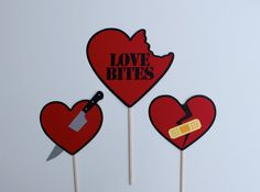 Anti Valentine's Day / Valentine's Day Stinks Party Photo Booth Props