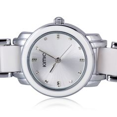 Aliexpress.com : Buy 2015 Luxury Brand KIMIO Fashion Women Quartz Watch Imitation Ceramic Resin Strap Watches Women Ladies Dress Wristwatches Gift from Reliable dress webshop suppliers on Original Brand Watch Mall | Alibaba Group