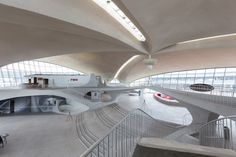 When Lori Walters heard that the future of the iconic TWA Flight Center at JFK airport was up in the air—given that the Eero Saarinen-designed landmark from 1962 was...